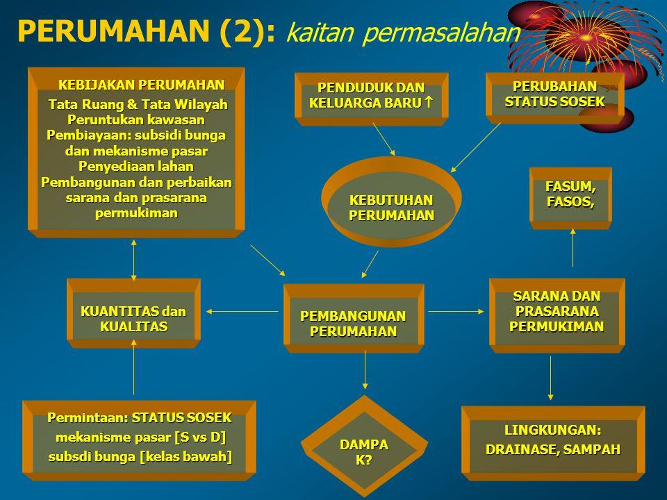 PERUMAHAN (2): kaitan permasalahan