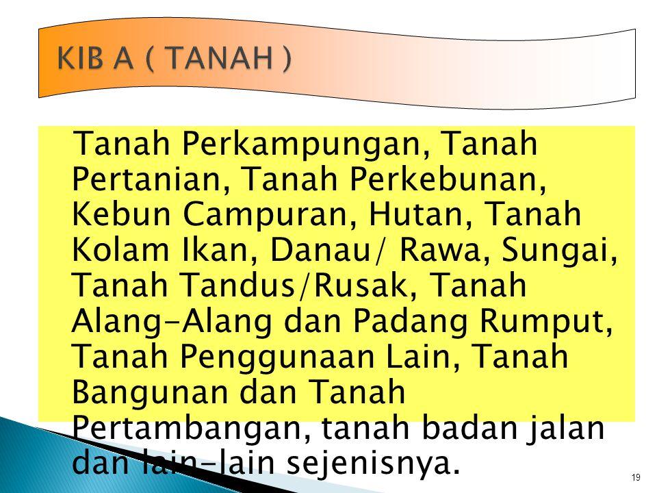 KIB A ( TANAH )