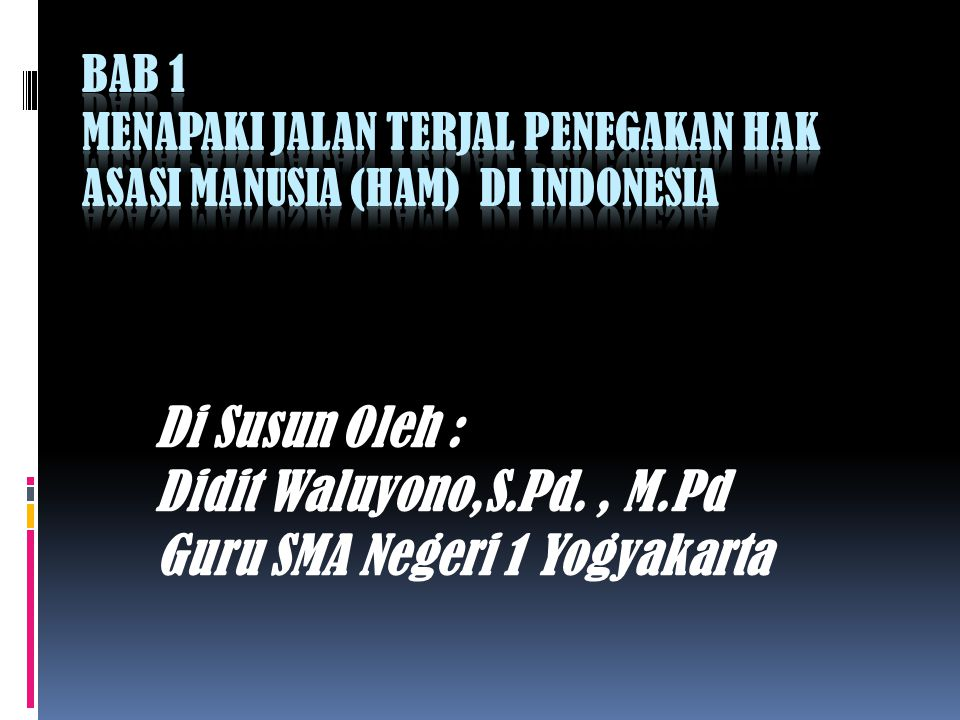 Guru SMA Negeri 1 Yogyakarta