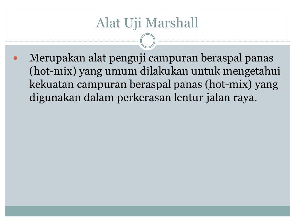 Alat Uji Marshall