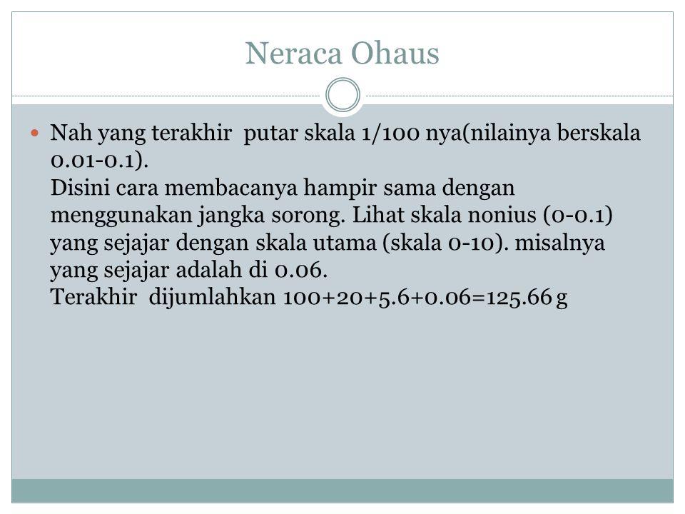 Neraca Ohaus