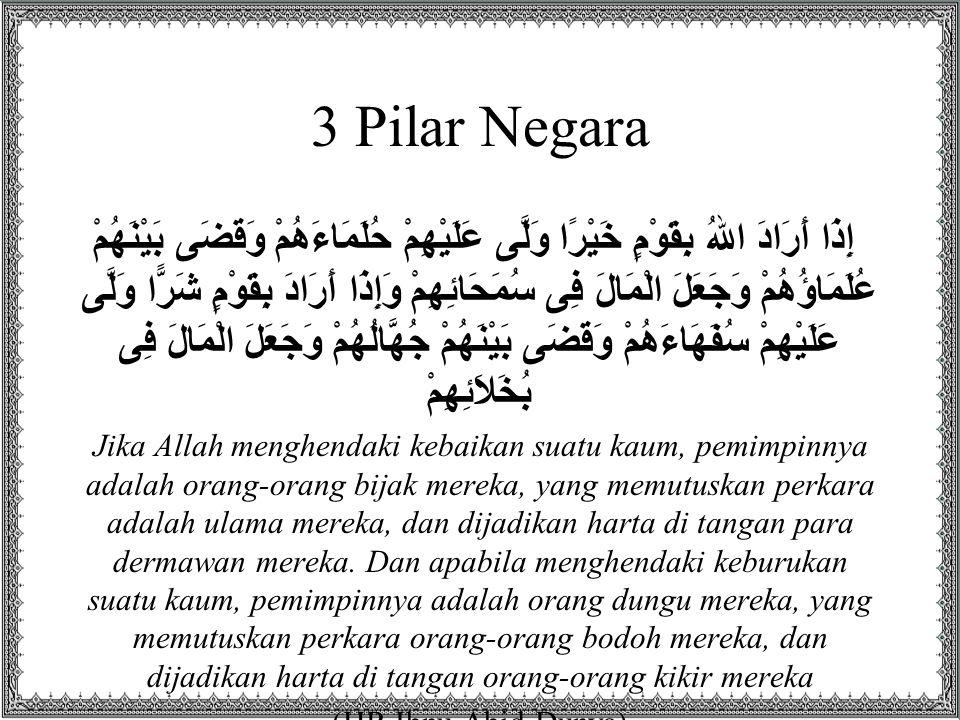 3 Pilar Negara