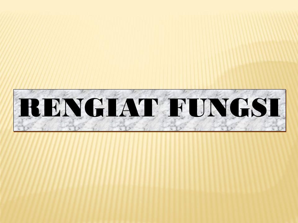 RENGIAT FUNGSI