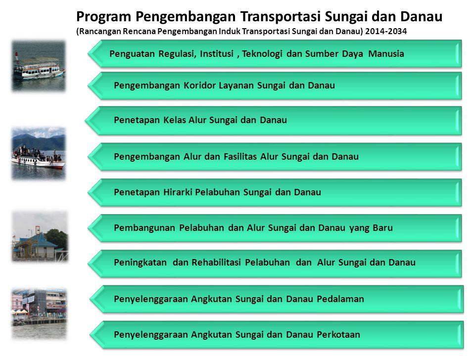 Program Pengembangan Transportasi Sungai dan Danau