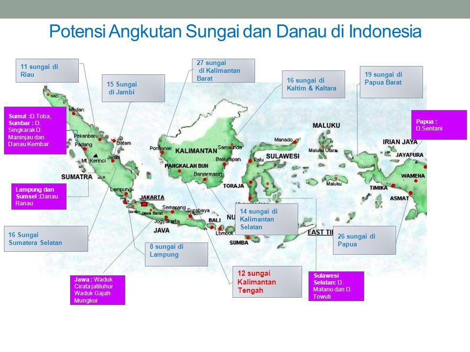 Potensi Angkutan Sungai dan Danau di Indonesia