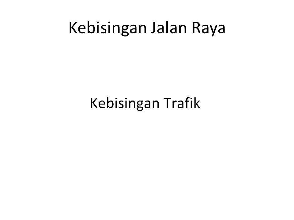Kebisingan Jalan Raya