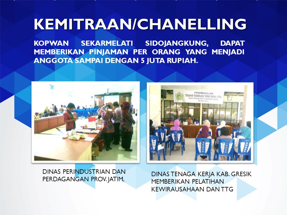 KEMITRAAN/CHANELLING