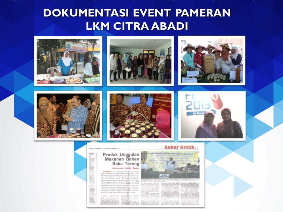 DOKUMENTASI EVENT PAMERAN LKM CITRA ABADI
