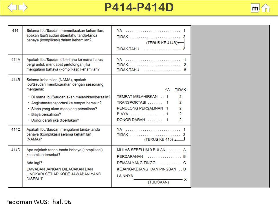 P414-P414D m SDKI 2012 100% Pedoman WUS: hal. 96