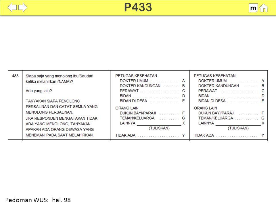 P433 m SDKI 2012 100% Pedoman WUS: hal. 98