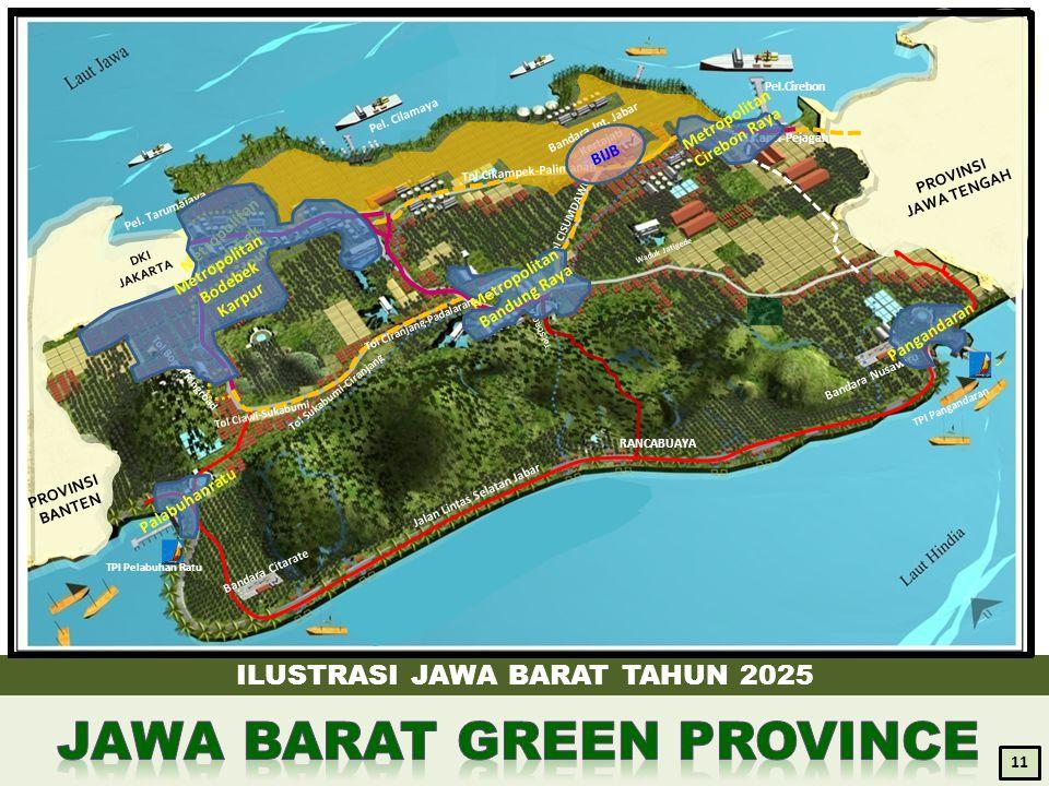 JAWA BARAT GREEN PROVINCE