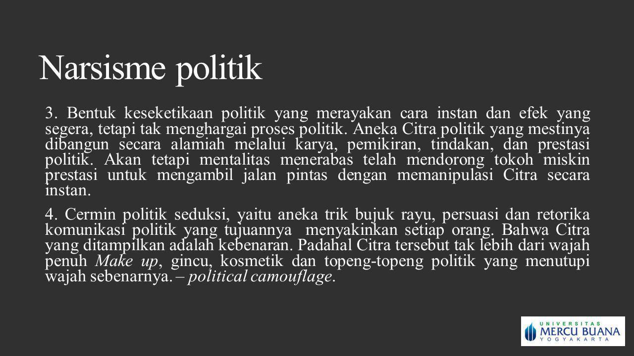 Narsisme politik