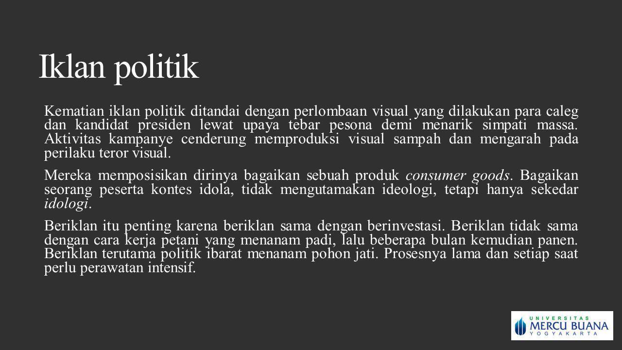 Iklan politik
