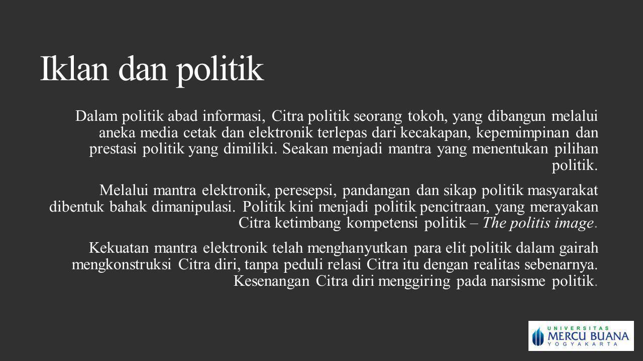 Iklan dan politik