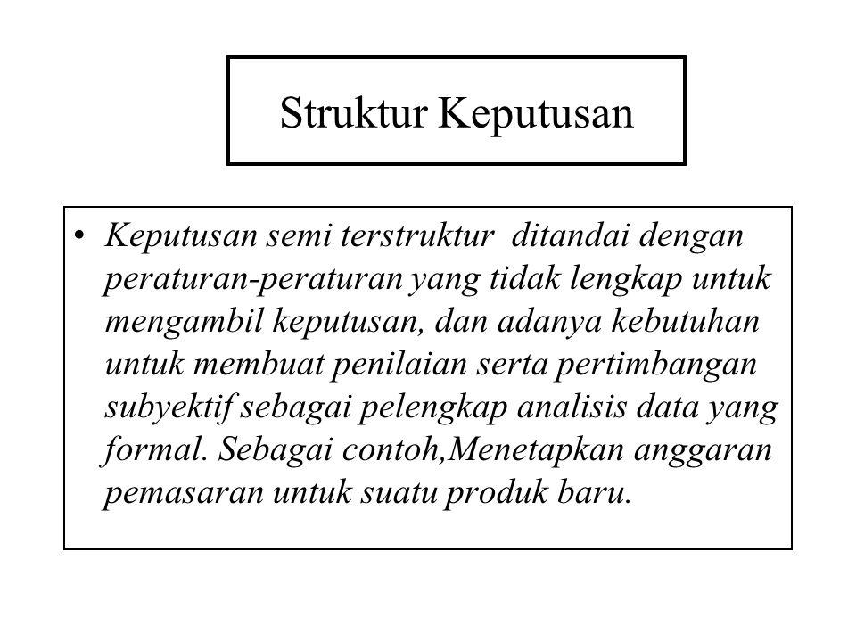 Struktur Keputusan