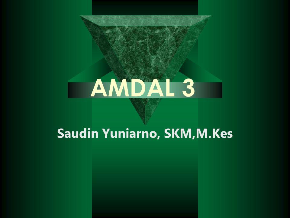 Saudin Yuniarno, SKM,M.Kes