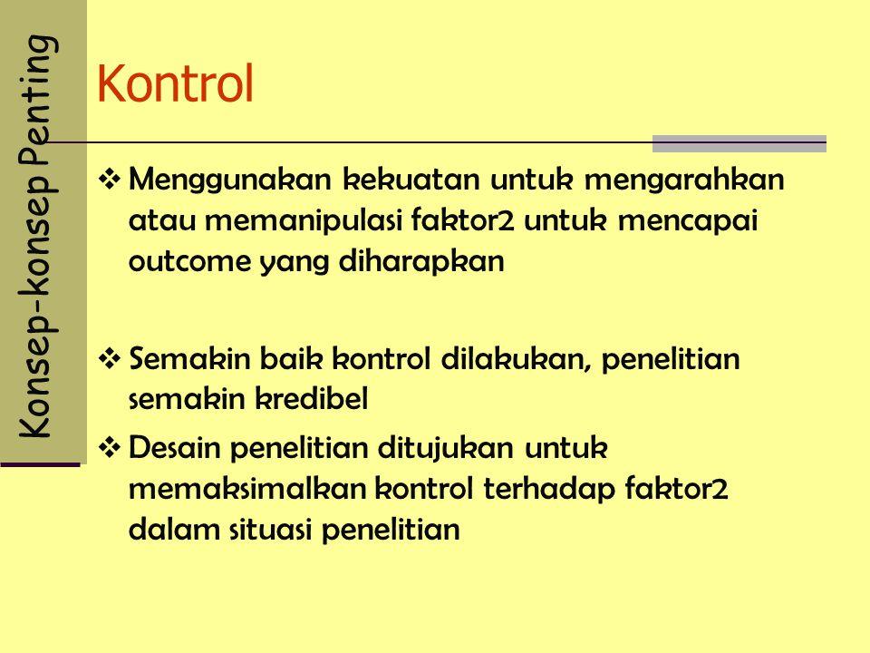 Kontrol Konsep-konsep Penting