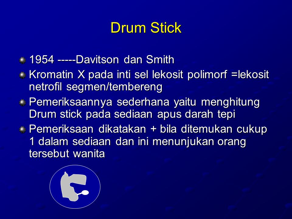 Drum Stick 1954 -----Davitson dan Smith