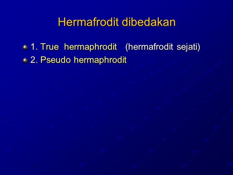 Hermafrodit dibedakan