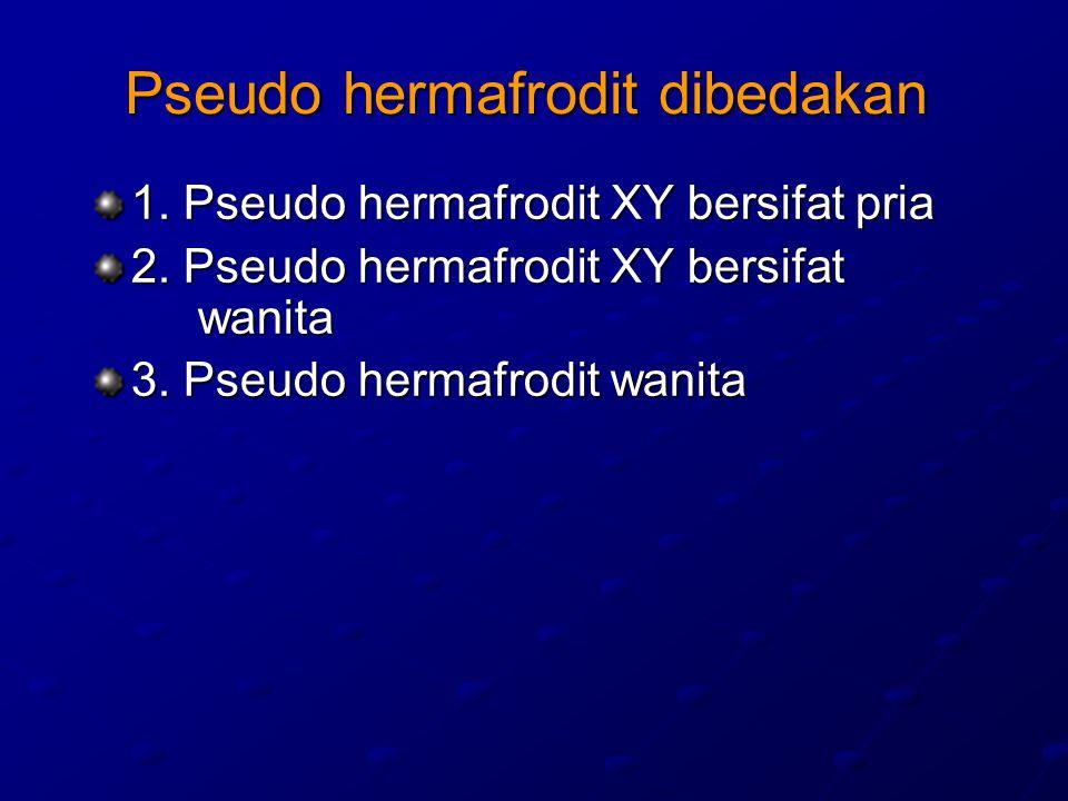 Pseudo hermafrodit dibedakan