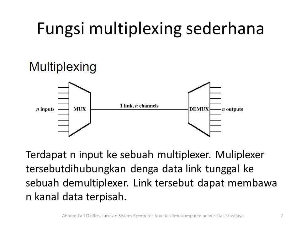 Fungsi multiplexing sederhana
