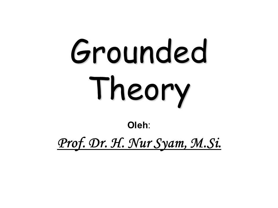Oleh: Prof. Dr. H. Nur Syam, M.Si.