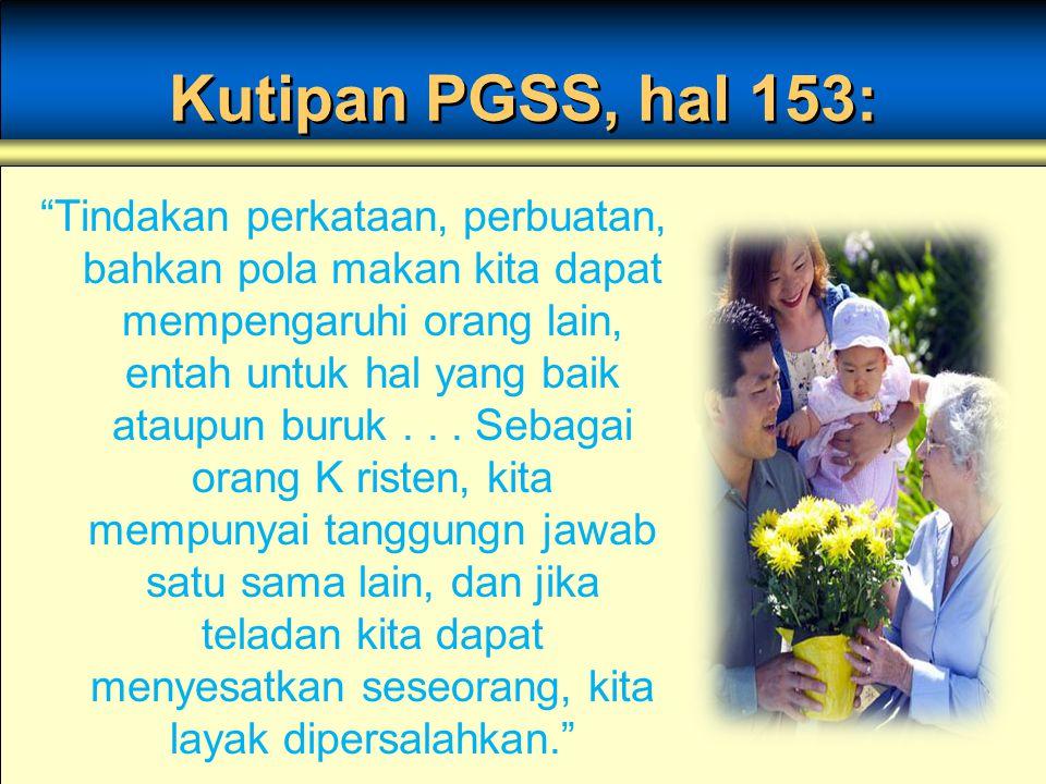 Kutipan PGSS, hal 153: