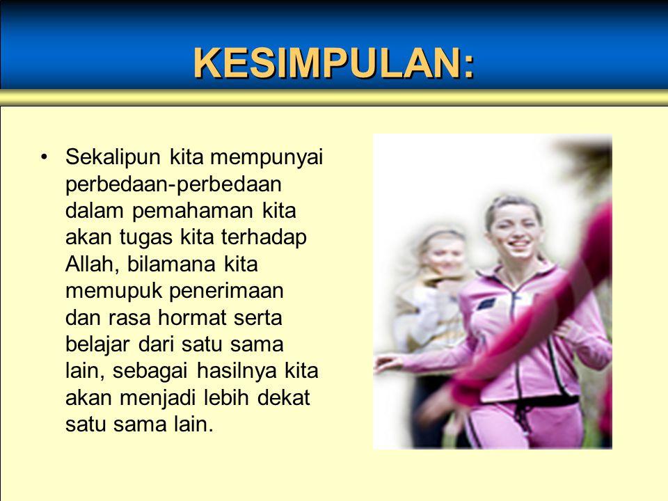 KESIMPULAN: