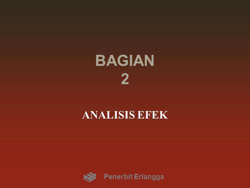 BAGIAN 2 ANALISIS EFEK Penerbit Erlangga