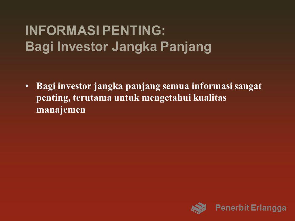 INFORMASI PENTING: Bagi Investor Jangka Panjang