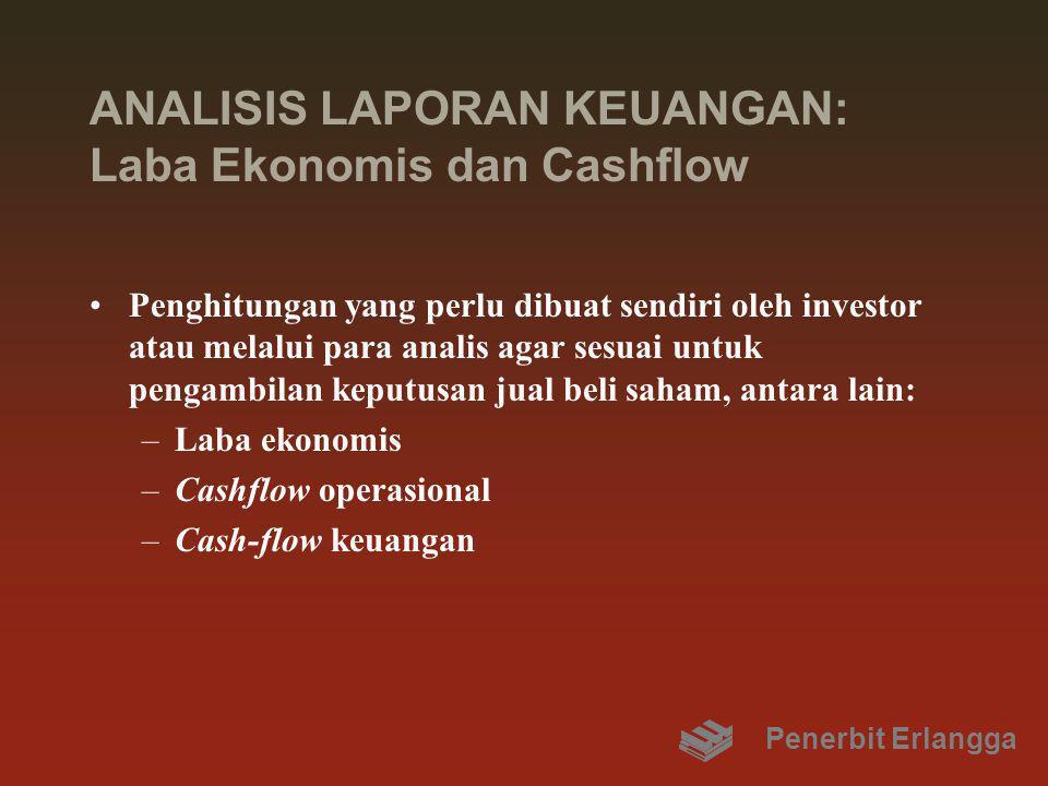 ANALISIS LAPORAN KEUANGAN: Laba Ekonomis dan Cashflow