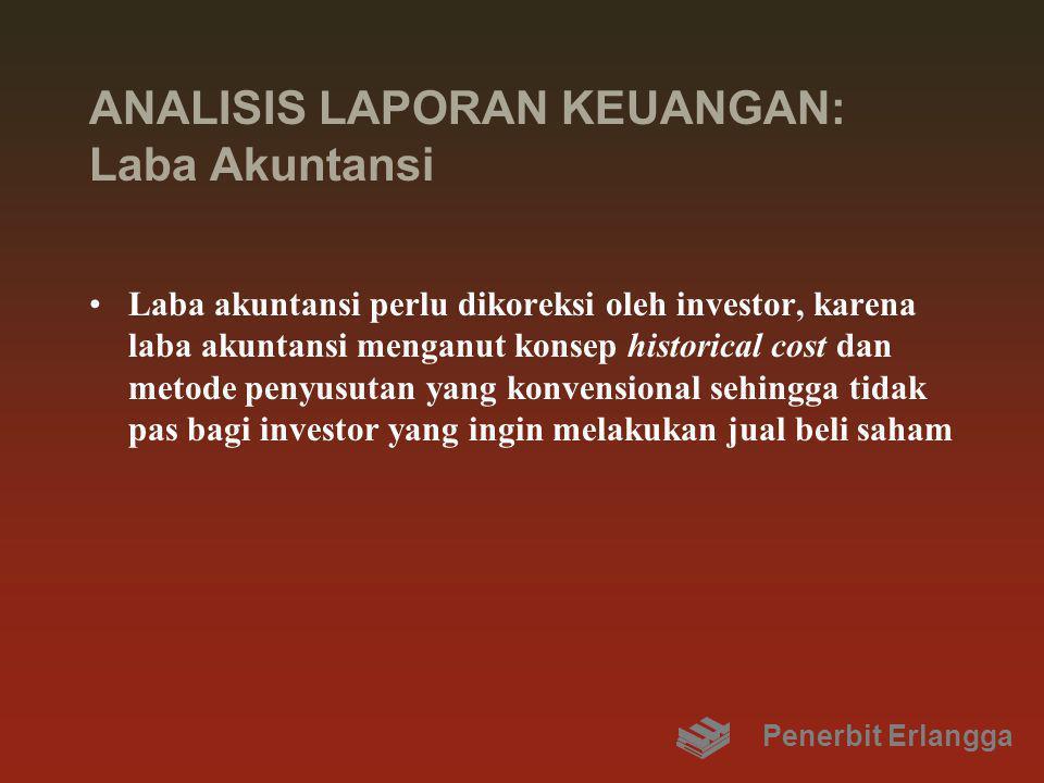ANALISIS LAPORAN KEUANGAN: Laba Akuntansi