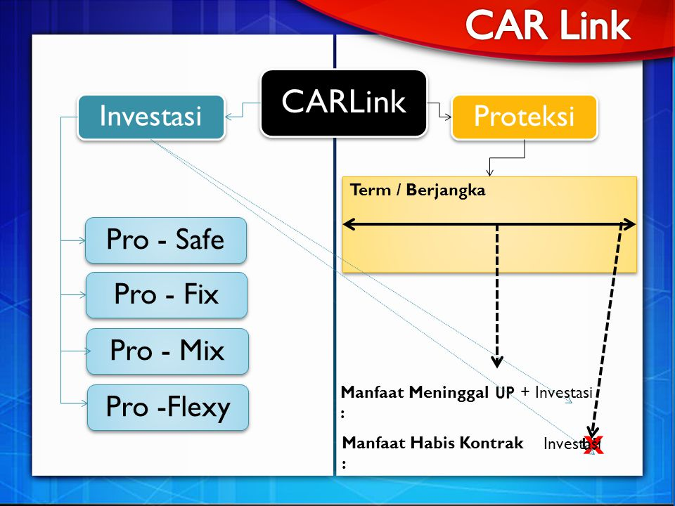 CAR Link CARLink Investasi Proteksi Pro - Safe Pro - Fix Pro - Mix