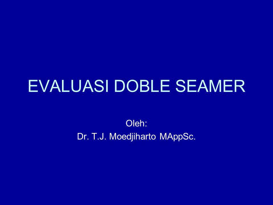 Oleh: Dr. T.J. Moedjiharto MAppSc.