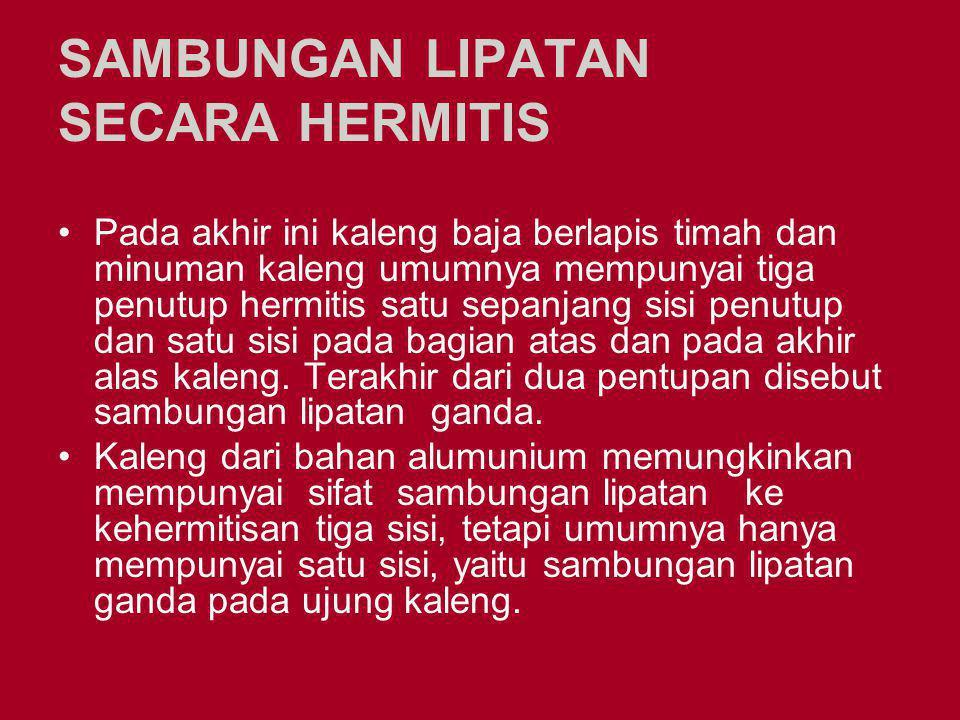 SAMBUNGAN LIPATAN SECARA HERMITIS