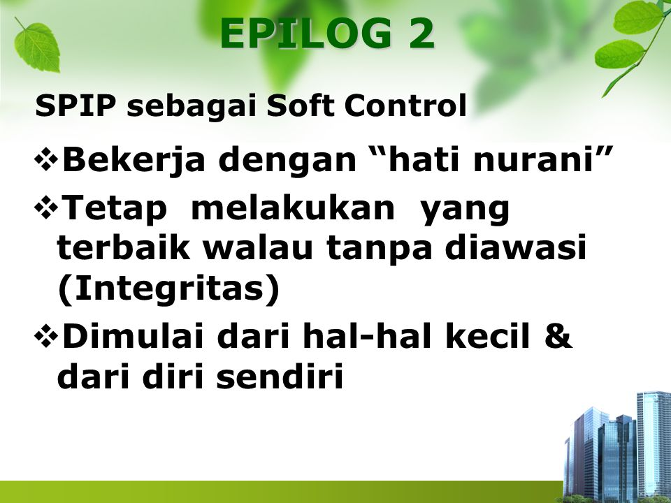 SPIP sebagai Soft Control
