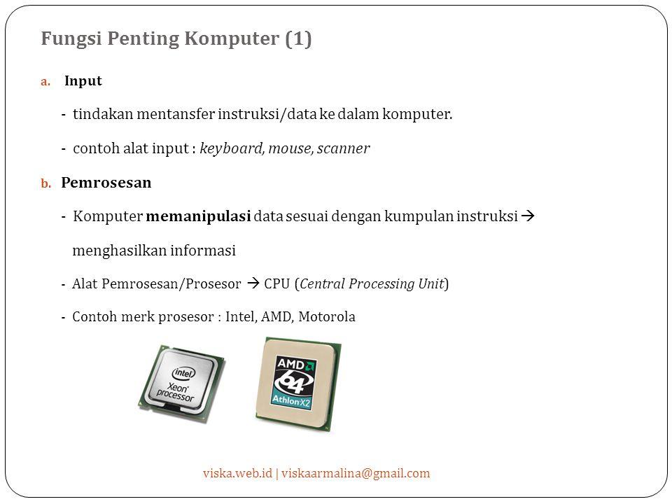 Fungsi Penting Komputer (1)
