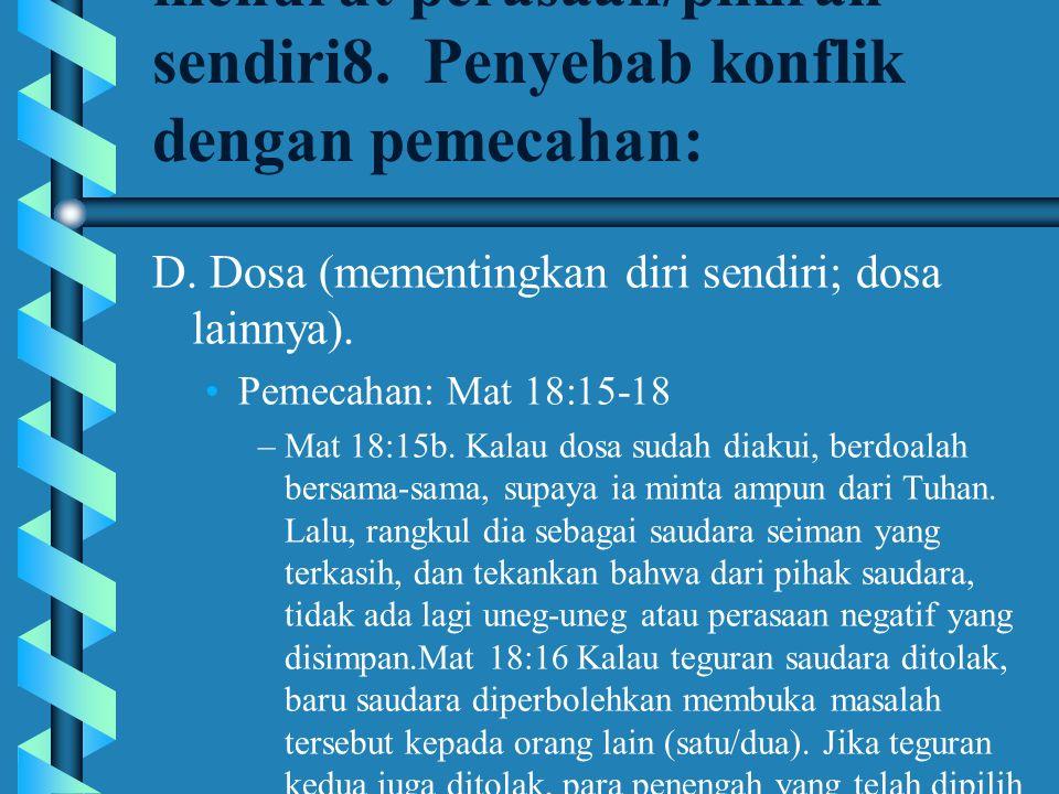 Dasari semua teguran saudara pada Firman Tuhan