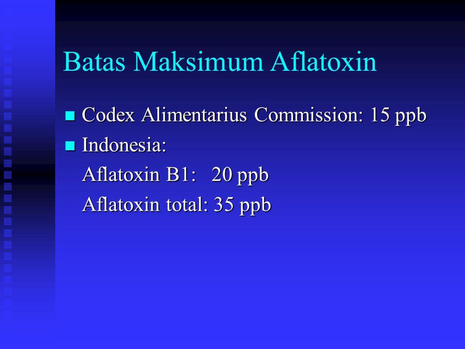 Batas Maksimum Aflatoxin
