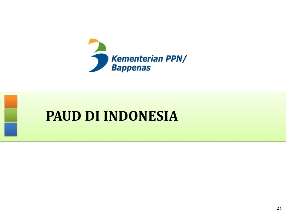 PAUD DI INDONESIA