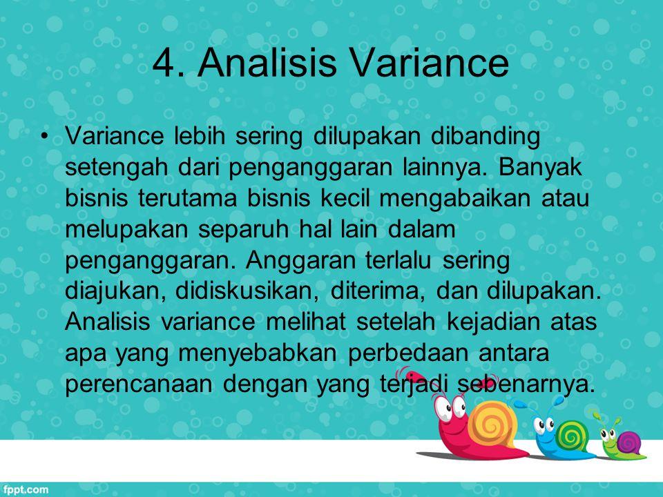 4. Analisis Variance