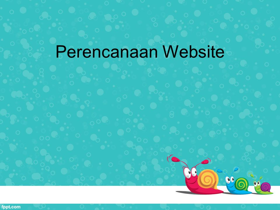 Perencanaan Website