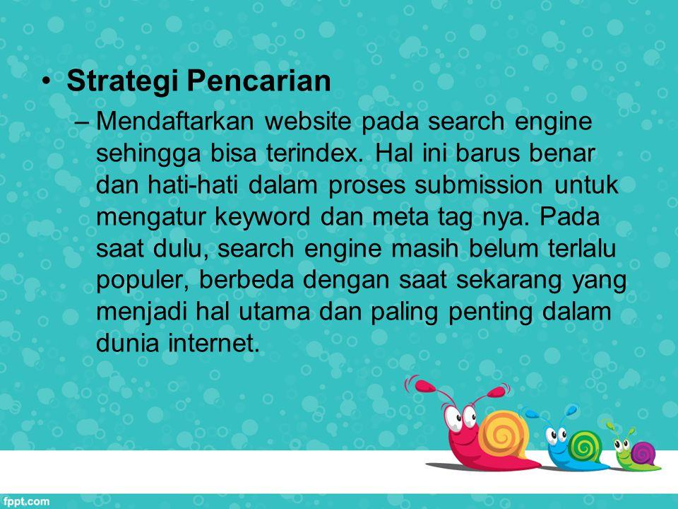 Strategi Pencarian