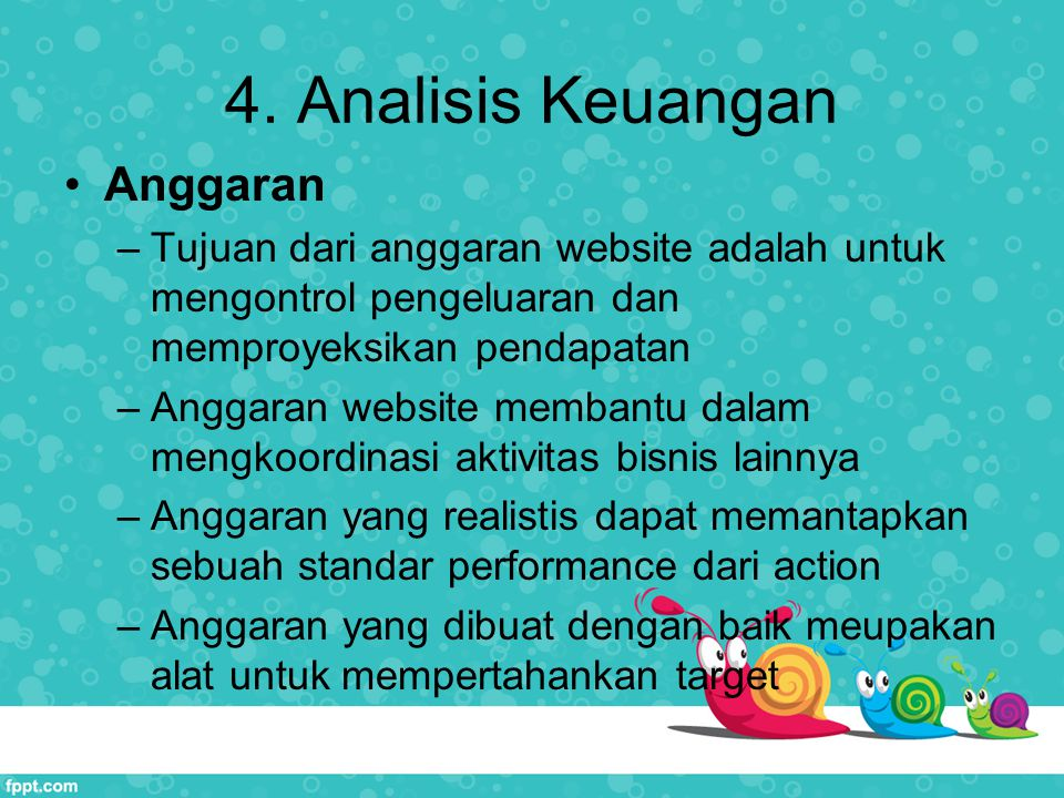 4. Analisis Keuangan Anggaran