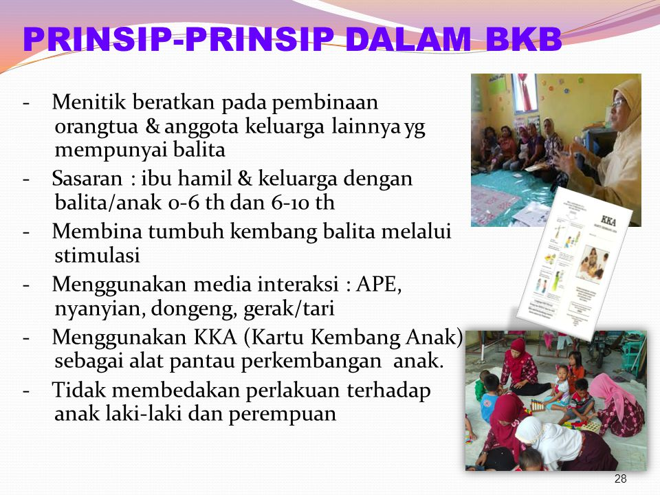 PRINSIP-PRINSIP DALAM BKB