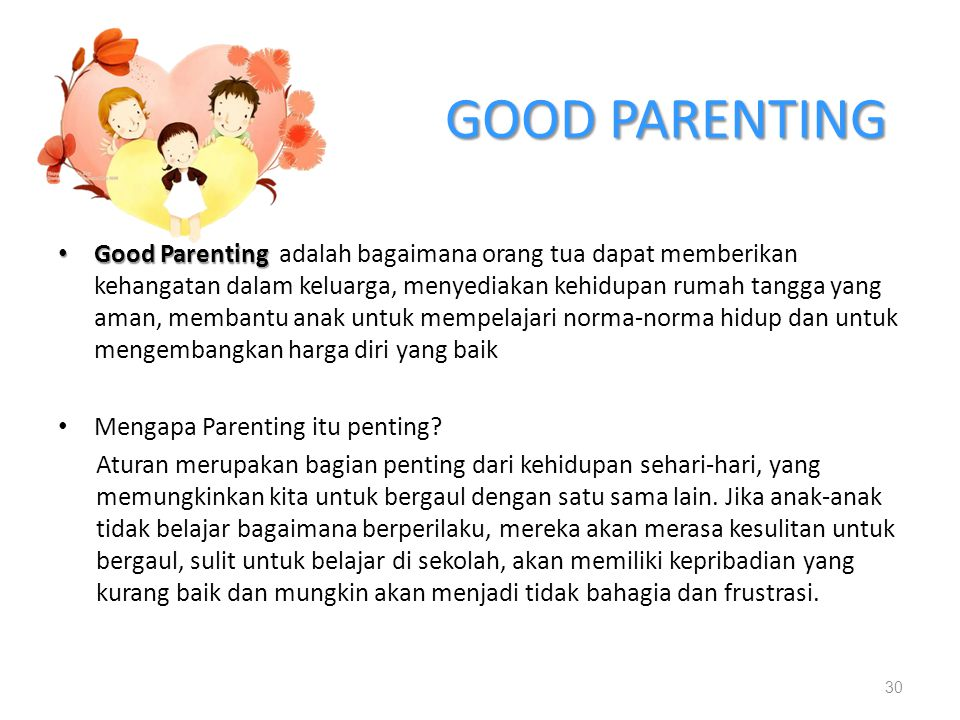 GOOD PARENTING