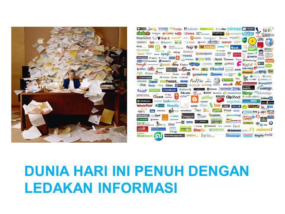 Dunia hari ini penuh dengan ledakan informasi