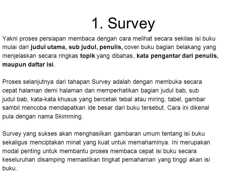 1. Survey
