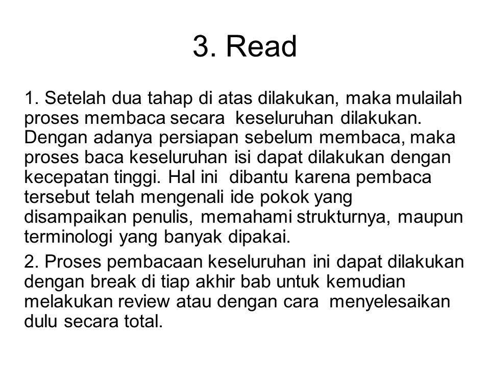 3. Read