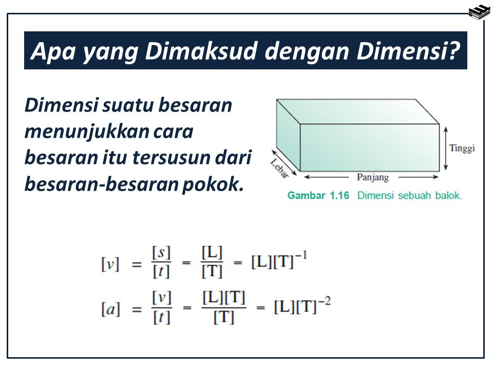 Apa yang Dimaksud dengan Dimensi